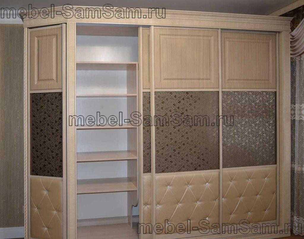 Шкафы-купе комбинированный