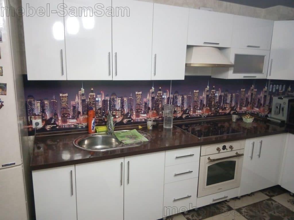 Кухня белый город