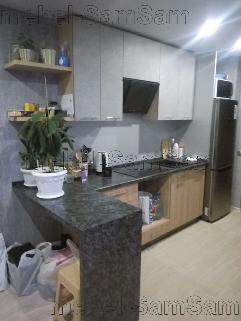 Кухня Графит