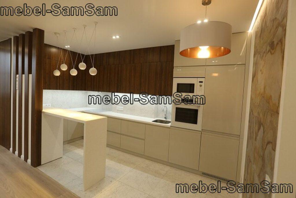 Кухня Ванильное дерево